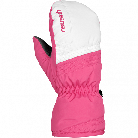 Варежки REUSCH 2014-15 JUNIOR BOY SKI Alan Junior Mitten white / hot pink