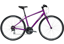 Велосипед Trek 7.2 FX WSD 17.5L  HBR 700C 2015 Grape
