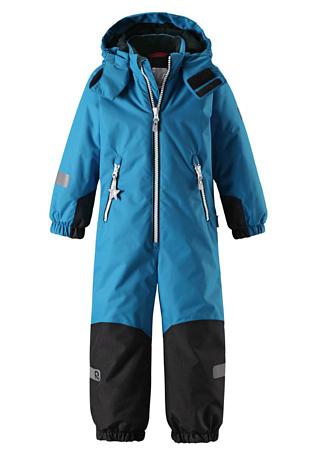 Купить Комбинезон горнолыжный Reima 2017-18 Finn Blue Детская одежда 1351630