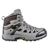 Ботинки городские (средние)Треккинговая обувь<br>Ботинки для пеших походов и прогулок<br> <br> -верх из ткани и нубука<br> -усиление на носке и пятке<br> -мягкий язычок<br> -Climactive® мембрана - водонепроницаемость и вентиляция<br> -Lafuma стелька с поддержкой пятки EVA<br> -Амортизация подошва из ЭВА<br> -Vibram® подошва