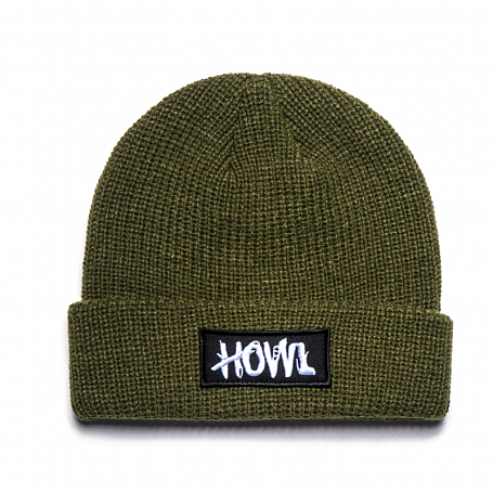 Шапка HOWL 2015-16 GASOLINE BEANIE HOWL OLIVE