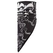 БанданаАксессуары Buff ®<br><br>Яркая многофункциональная бандана из серии Polar Buff® изготовлена из тончайшего полиэстера и мягкого флиса Polartec® Classic fleece® и имеет треугольный край. Бандану можно носить в качестве маски, повязки, шейного платка, шарфа и даже лыжной банданы, закрывающей шею и уши. Отличный вариант для любого времени года.Теплая бандана с одной стороны изготовлена из мягкого и тонкого флиса, с другой из однослойного полиэстера с нанесением узора. Также при надевании банданы на лицо вы обнаружите специальные вентиляционные отверстия для более комфортного дыхания - получится маска-бандана. <br>Технология Polygiene для сохранения свежести, даже когда вы вспотеете.  <br>Ручная или машинная стирка при температуре не более 40 градусов. Не гладить.