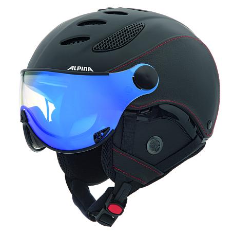 Купить Зимний Шлем Alpina 2015-16 VISOR JUMP JV EXL black-black, Шлемы для горных лыж/сноубордов, 1193994