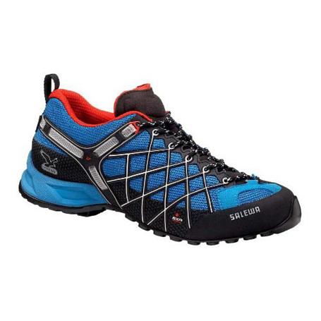 Купить Треккинговые кроссовки Salewa Tech Approach Mens MS WILD FIRE GTX davos - flame Треккинговая обувь 896529