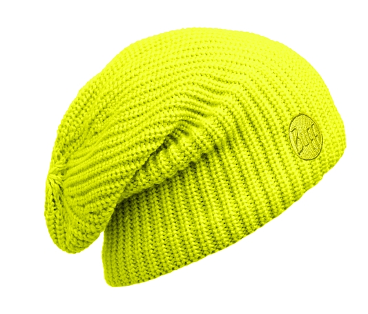 Шапка BUFF KNITTED HATS BUFF DRIP YELLOW FLUOR