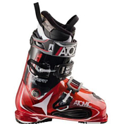 ����������� ������� ATOMIC 2014-15 ALL MOUNTAIN LIVE FIT 130 TRANSPARENT RED
