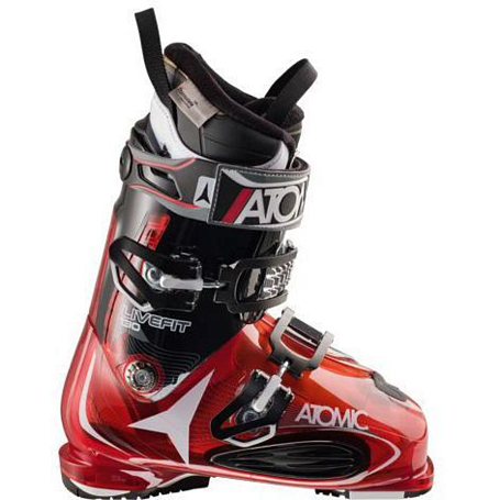 Горнолыжные ботинки ATOMIC 2014-15 ALL MOUNTAIN LIVE FIT 130 TRANSPARENT RED