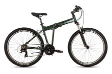 ВелосипедСкладные велосипеды<br>Складной эконом велосипед<br> <br> <br> Особенности:<br> <br> - легкая алюминиевая рама<br> - ободные механические тормоза<br> - 21 скорость<br> <br> <br> Технические характеристики:<br> <br> Рама: ALU 6061 FOLDING<br> Вилка: Suntour XCT DS 100mm<br> Диаметр колес: 26&amp;nbsp;<br> Кол-во скоростей: 21&amp;nbsp;<br> Переключатель задний: Shimano RD-TY300<br> Переключатель передний: Shimano FD-M190<br> Шифтеры: Shimano ST-EF51 3/7-speed<br> Тип тормозов: ободные механические<br> Тормоза: Promax V-brake<br> Кассета: Shimano CS-HG200-7 12-32T 7-speed<br> Покрышки: Kenda K-1047 26x2,10<br> Вес 13,6 кг