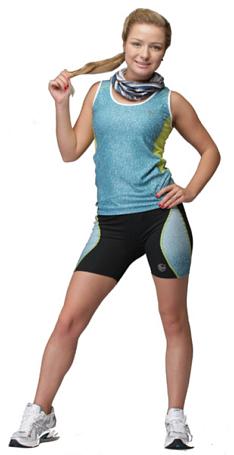 Купить Шорты беговые BUFF SHORT TIGHTS HAVEN (BLACK) черный Одежда для бега и фитнеса 759159