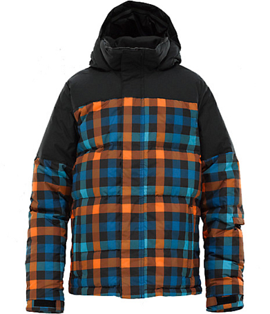 Куртка сноубордическая BURTON 2011-12 BOYS INDIE DOWN JACKET MSCT TRIPPLEO/TRUBLK