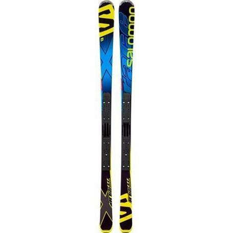 Купить Горные лыжи SALOMON 2014-15 X-SERIES X-Race+ Race plate XX BL 1142655