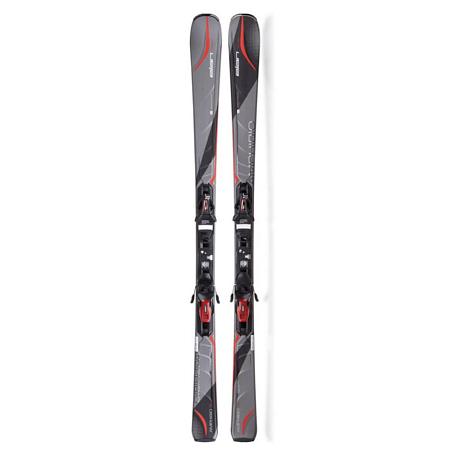 Купить Горные лыжи с креплениями Elan 2014-15 ALL MOUNTAIN AMPHIBO Amphibio 76 TI GREEN F+ EL 10, лыжи, 1128650