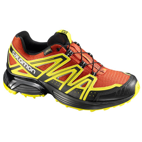 Беговые кроссовки для XC SALOMON 2013-14 Trail running XT HORNET GTX M MOAB ORANGE/Y