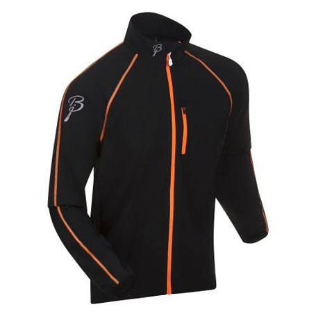 Жакет беговой Bjorn Daehlie Jacket IMPACT 99949 (black/shocking orange) черный/оранж