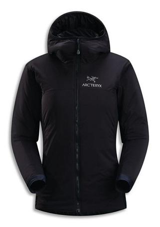 Купить Куртка туристическая Arcteryx 2012-13 Insulation Atom LT Hoody Womens (Black/Black) черный Одежда 851971