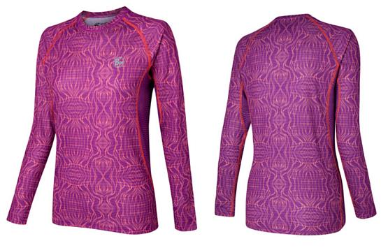 Купить Футболка с длинным рукавом беговая BUFF Cumorah (Purple) фиолетовый, Одежда лыжная, 808046