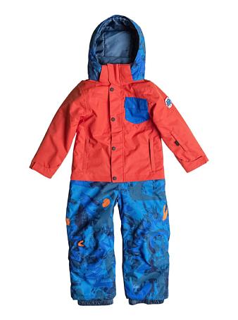 Купить Комбинезон сноубордический Quiksilver 2015-16 Rookie Kids K SNSU POINCIANA Детская одежда 1215804