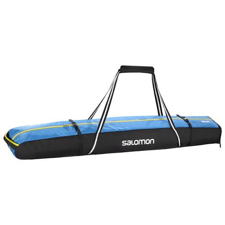 Купить Чехол для горных лыж SALOMON 2016-17 EXTEND 2P 175+20 BL/BL/YE Чехлы 1287404