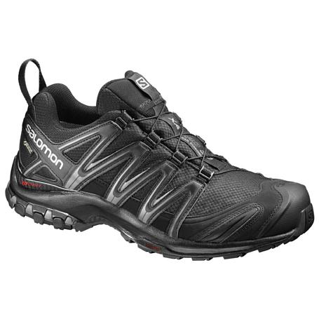 Купить Беговые кроссовки для XC SALOMON 2017 SHOES XA PRO 3D GTX BLACK/BLACK/Magnet Кроссовки бега 1326660