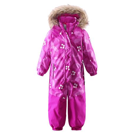 Купить Комбинезон горнолыжный Reima 2016-17 MUHVI РОЗОВЫЙ Детская одежда 1273913