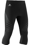 Тайтсы 3/4 Беговые Salomon 2014 Endurance 3/4 Tight M Black