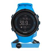 ЧасыЧасы, шагомеры, фитнес-браслеты<br>Важнее всего – путь к вершине, будь то пик горной гряды или личный рекорд. Suunto Ambit3 Peak — ваши идеальные GPS-часы для спорта и приключений. Они помогут на каждом этапе пути, предоставляя всю необходимую информацию во время вашего приключения. Отслеживайте профиль высоты своего маршрута во время упражнений прямо на часах. Воспользуйтесь беспроводным подключением часов к смартфону и бесплатным приложением Suunto Movescount App для настройки часов на ходу. Приложение поможет дополнить впечатления о ваших приключениях, пережить их заново и поделиться с миром! Эти часы станут вашим лучшим товарищем, запишут и сохранят все ваши активности.<br> <br> Особенности:<br> <br> - GPS-часы с развитыми функциями для активного отдыха на природе и многоборья<br> - Интеллектуальное мобильное подключение<br> - Делитесь своими активностями, чтобы заново переживать и дополнять испытанное<br> <br> Активный отдых и мультиспорт:<br> <br> - 30 часов работы от батареи с 5-секундной точностью GPS (1-минутная точность: 200 часов)<br> - Навигация по маршруту и обратный путь<br> - Навигация профиля высоты маршрута в режиме реального времени<br> - Компас<br> - Альтиметр (FusedAltiTM)<br> - Сведения о погоде<br> - Запись частоты сердцебиения при плавании**<br> - Расчет времени восстановления на основе уровня активности<br> - Скорость, темп и расстояние<br> - Мощность при езде на велосипеде (технология Bluetooth Smart)<br> - Информация о нескольких видах спорта в одной тренировке<br> - Находите новые маршруты с помощью теплокарт на сайте Suunto Movescount и в приложении Suunto Movescount App<br> - Тренировочные программы Movescount на часах<br> - Расширение возможностей с помощью приложений Suunto App<br> - Языки: английский, чешский, датский, немецкий, испанский, финский, французский, итальянский, японский, корейский, голландский, норвежский, польский, португальский, русский, шведский, китайский.<br> <br> Возможности подключения:<br> <br> - Мгновенная пе