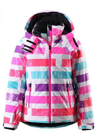 Купить Куртка горнолыжная Reima 2015-16 Frost flamingo red Детская одежда 1197456