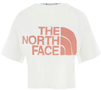 Футболка для активного отдыха The North Face 2020 S/S Half Dome Cropped TNF White