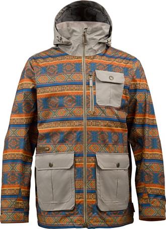 Купить Куртка сноубордическая BURTON 2013-14 MB SENTRY JKT MLTI NRSE KNG/STNHUT Одежда 1021836