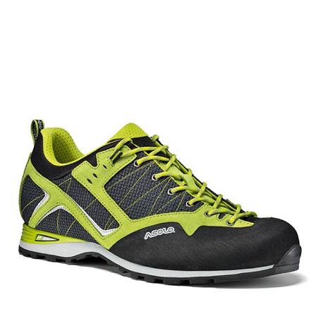 Купить Ботинки для альпинизма Asolo MAGIX MM NERO/GREEN LIME Альпинистская обувь 1148278