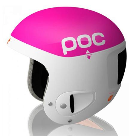 Купить Зимний Шлем Poc Skull Comp 2.0 Pink white Шлемы для горных лыж/сноубордов 1242329
