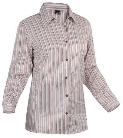 Купить Рубашка для активного отдыха Salewa 5 Continents LUTEA DRY W L/S SRT pin red Одежда туристическая 547105