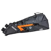 ВелосумкаВелосумки<br>Сумка идеально подходит для велопутешествий! ORTLIEB Seat-Pack удобно монтировать на сиденье с помощью двух дополнительных прочных Velcro лент. Помимо своей основной функции, подседельная сумка служит в качестве крыла/бампера на бездорожье и защищает от брызг и грязи.<br> Просторный, водонепроницаемый пакет Seat-Pack сохраняет одежду сухой. Объем пакета от 8 до 16,5 литров, укладку и пользование удобно осуществлять через боковое отверстие с рулонным закрытием. Используйте удобный компрессионный клапан сжатия, чтобы сделать укладку еще более компактной. С ORTLIEB Seat-Pack вы не будете думать, куда деть куртку которая мешает на тяжелом подъеме? Просто закрепите ее под шнуром-ограничителем быстрого доступа в верхней части сумки. А как только вы прибудете в пункт назначения… можете использовать ORTLIEB Seat-Pack в качестве идеального сменного рюкзака, независимо от того, какой у вас велосипед кроссовый, горный, дорожный или электрический.<br> <br> - Светоотражающие вставки 3M Scotchlite добавят безопасности при дорожном движении<br> - Легко крепится&amp;nbsp;<br> - объем меняется от 8 до 16,5 л<br> - возможность крепления куртки сверху с помощью шнура<br> - необходимо 14 см пространства под седлом для крепления сумки<br> - размеры 30*64*22 см<br> - вес 456 гр<br> - объем 16,5 л<br>