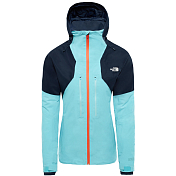 Куртка горнолыжная The North Face 2018-19 W POWDER GUIDE JKT TRANS BL/UR NAVI