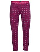 Кальсоны Icebreaker 2016-17 Oasis Legging Align Pop Pink/snow/white