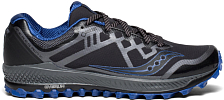 Беговые кроссовки Saucony 2019-20 Peregrine 8 GTX Black/Grey/Blue