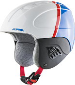 Зимний Шлем Alpina 2020-21 Carat White/Red/Blue