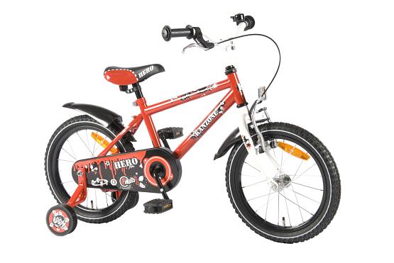 Купить Велосипед VOLARE Hero Boy 2014 Красный, До 6 лет (колеса 12 -18 ), 1321768