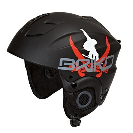 Купить Зимний Шлем Briko POCKET BLACK PIRATE (F066), Шлемы для горных лыж/сноубордов, 772387