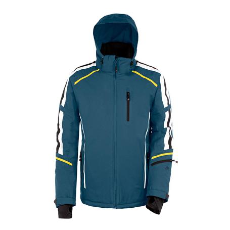 Купить Куртка горнолыжная MAIER 2014-15 MS Classic Almagell china blue (серый) Одежда 1091943