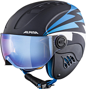 Зимний Шлем Alpina 2020-21 Carat Le Visor HM Nightblue/D Matt