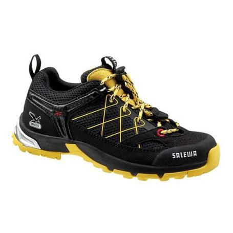 Купить Треккинговые кроссовки Salewa Junior Approach JUNIOR FIRETAIL black - cornflower Треккинговая обувь 896909
