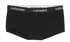 Трусы Icebreaker 2016-17 Wmns Sprite Hot Pants Black/black