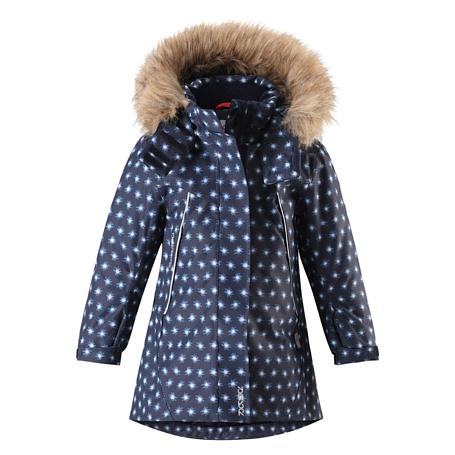 Купить Куртка горнолыжная Reima 2017-18 Muhvi Navy Детская одежда 1351660