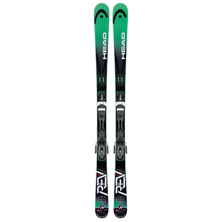 Купить Горные лыжи с креплениями HEAD 2014-15 Allmountain REV 80 Pro SW PR + 11 WIDE BR.90G black/green 1139104