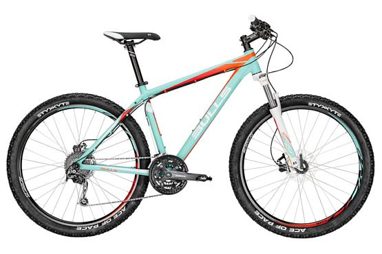 Купить Велосипед Bulls Vanida 27,5 2016 green matt/orang / Зеленый Горные спортивные 1250476
