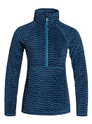 Толстовка сноубордическая Quiksilver 2015-16 CASCADE PRINTED J OTLR ZIG ZAG STRIPE_ENSIGN BLUE