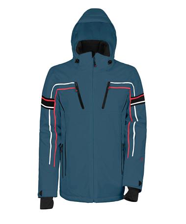 Купить Куртка горнолыжная MAIER 2014-15 MS Classic Wengen china blue (серый) Одежда 1091793