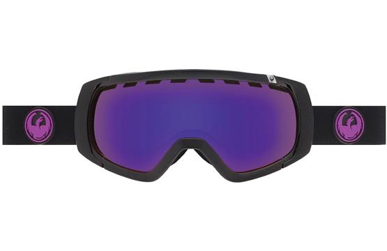 Купить Очки горнолыжные DRAGON 2015-16 ROGUE Jet / Purple Ion, Yellow Red Ion 1220931
