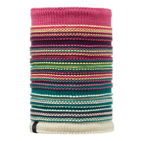 Купить Шарф BUFF SKI CHIC COLLECTION KNITTED & POLAR NECKWARMER NEPER MAGENTA/OD Банданы и шарфы Buff ® 1343739